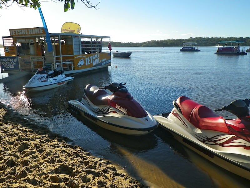Maroochy River Jet Ski hire - discount for Licence to Boat customers who have completed their boat licence or jet ski licence