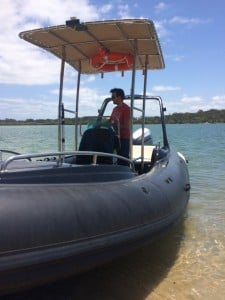 Boat licence Sunshine Coast with online theory course