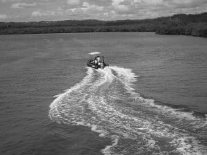 Boat licences on the beautiful Maroochy River, Maroochydore with online theory courses from Licence to Boat, Sunshine Coast