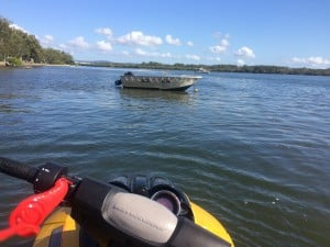 Jet-ski licence Sunshine Coast on the Maroochy River in Maroochydore with Licence to boat