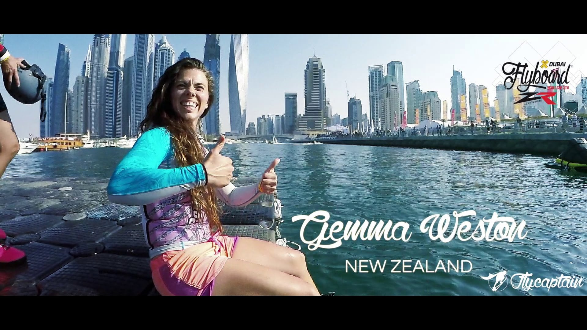 Wow! Check out the womens world flyboard champ in action!