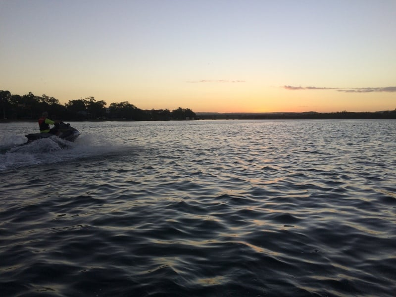 Great sunset cruise Maroochy River.